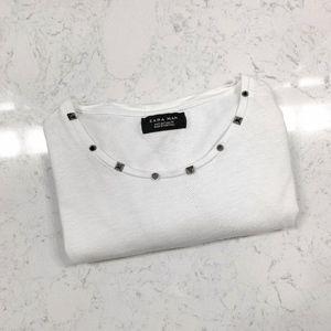 Zara┆studded t-shirt
